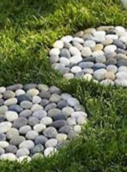 Precio de piedras blancas para jardin jardn pequeo con - Piedras decorativas jardin precio ...